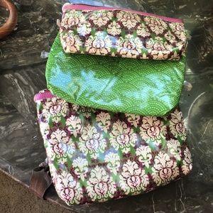 3 makeup bags